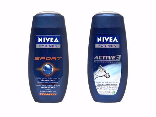 Obrázek Sprchový gel Nivea pánský 250 ml