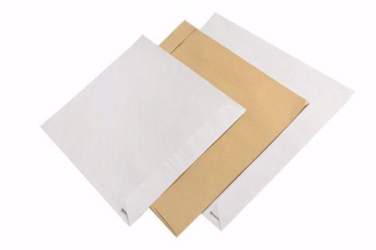 Obrázek Obchodní taška bílá B4 samolepící