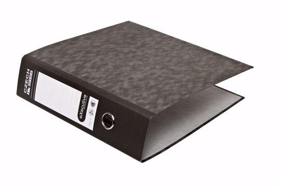 Obrázek Pořadač pákový recykl černý 8 cm
