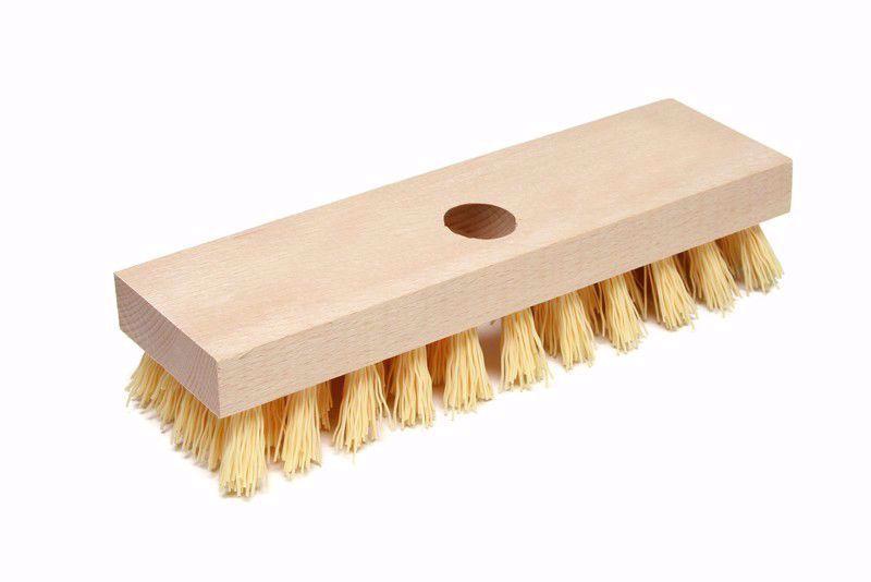 Obrázek Kartáč rýžák dřevěný s holí