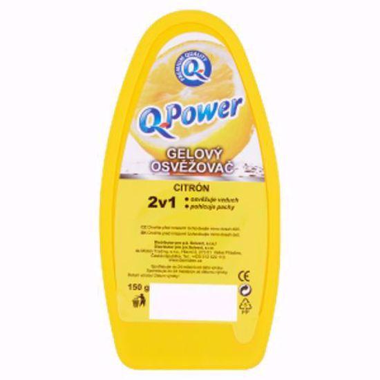 Obrázek Q power gel 150 g osvěžovač citron