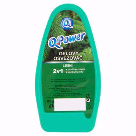 Obrázek Q power gel 150 g osvěžovač lesní
