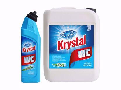 Obrázek Krystal WC kyselý na keramiku modrý