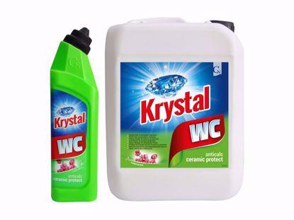 Obrázek Krystal WC kyselý na keramiku s ochranou zelený