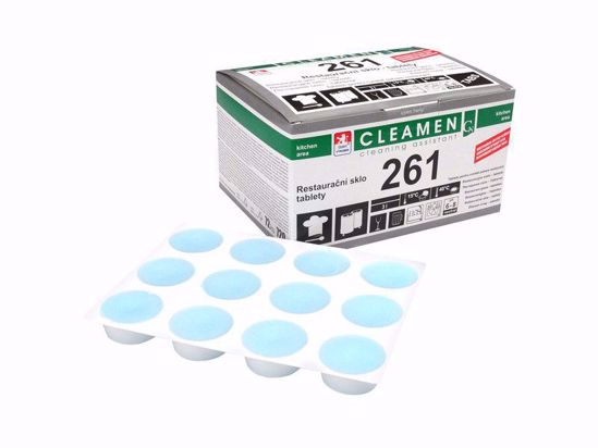 Obrázek Cleamen 261 restaurační sklo tablety