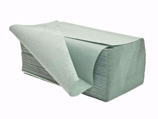 Obrázek Ručníky papírové ZZ 1-vr zelené