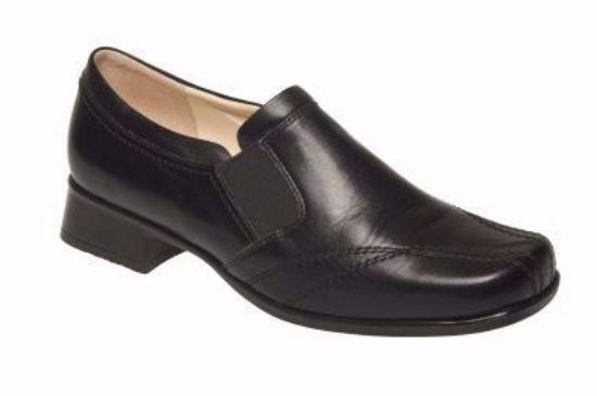 pracovní, obuv, polobotka, dámská