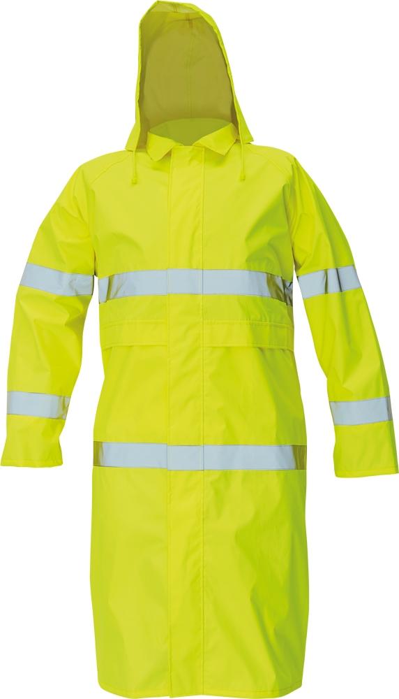 plášť, žlutý plášť, pogumovaný plášť