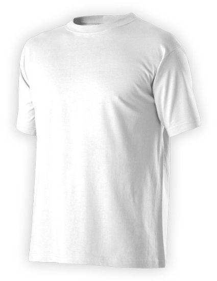 tričko,unisex,bílé,160g