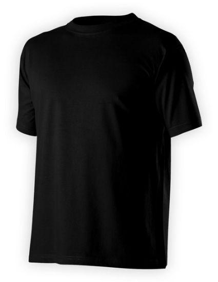 pracovní tričko, černé, volnočasové tričko