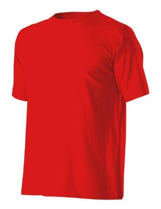 pracovní tričko, tričko červené