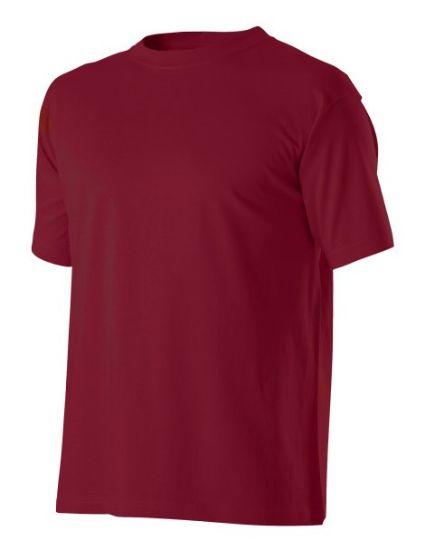 pracovní tričko, vínové