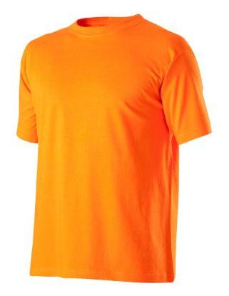 pracovní tričko, tričko oranžové