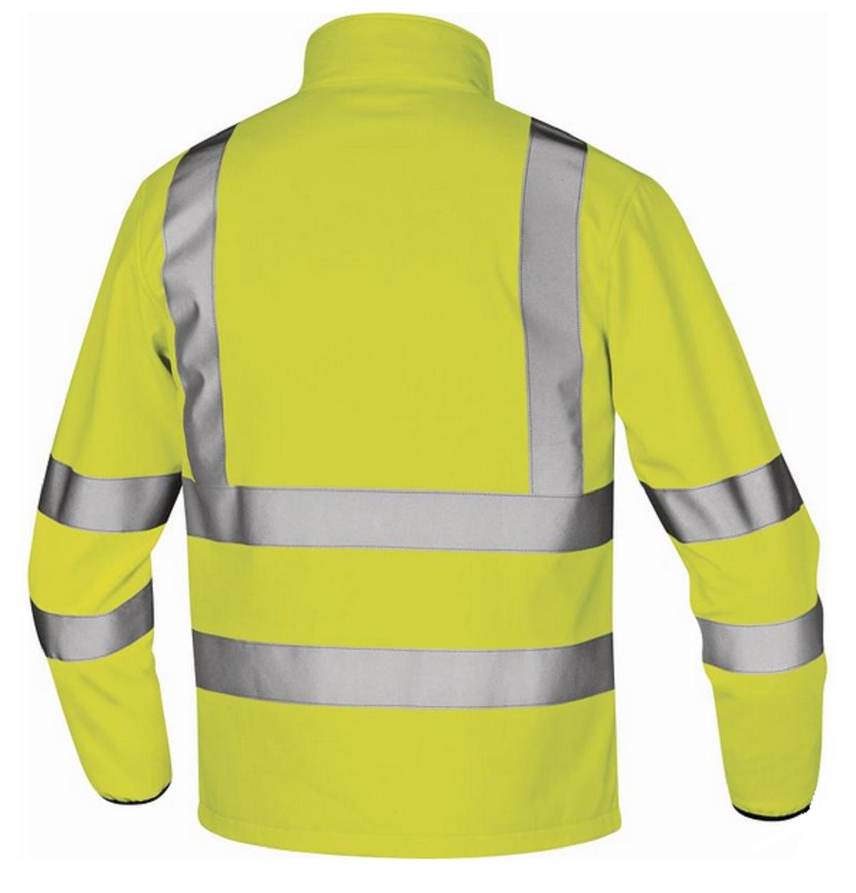 pracovní,bunda,softshellová,výstražná,lega