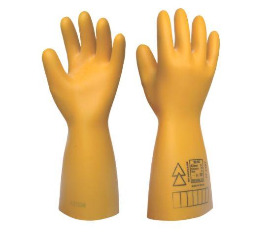 pracovní, rukavice, dielektrické