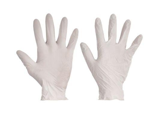 rukavice, pracovní, jednorázové