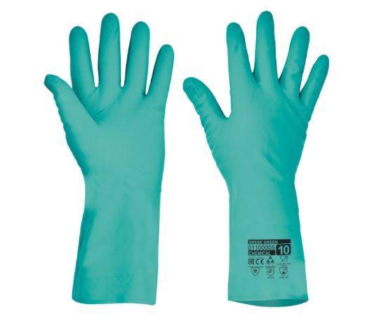 pracovní, rukavice, proti nebezpečným chemikáliím